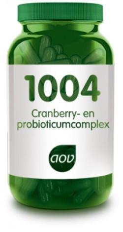 AOV Cranberry Probiotica - 1004 60 vegetarische capsules