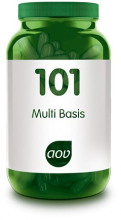 AOV Multi Basis - 101 60 vegetarische capsules