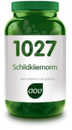 AOV Schildkliernorm - 1027 60 vegetarische capsules