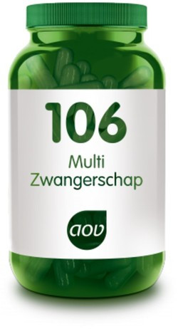 AOV Multi Zwangerschap - 106 60 vegetarische capsules