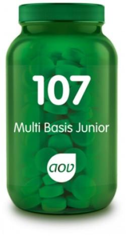 AOV Multi Basis Junior - 107 60 kauwtabbleten
