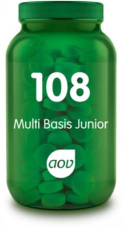 AOV Multi Basis Junior - 108 180 kauwtabletten