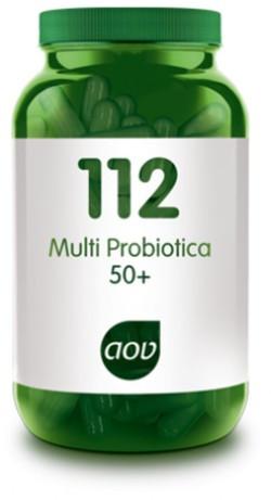 AOV Multi Probiotica 50+ - 112 60 vegetarische capsules