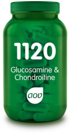 AOV Glucosamine & Chondroïtine - 1120 60 vegetarische capsules