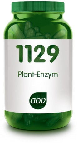 AOV Plant-enzym - 1129 60 vegetarische capsules