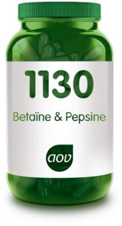 AOV Betaïne & Pepsine - 1130 120 vegetarische capsules
