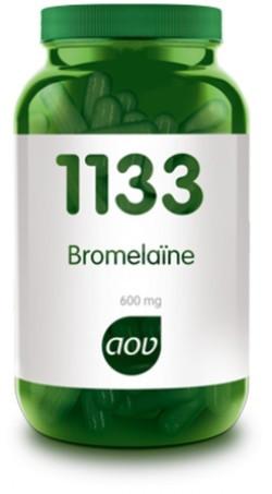 AOV Bromelaïne - 1133 30 vegetarische capsules