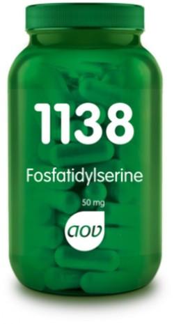 AOV Fosfatidylserine - 1138 60 vegetarische capsules