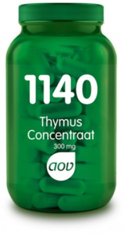 AOV Thymus Concentraat - 1140 60 vegetarische capsules