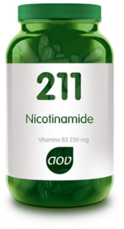 AOV Vitamine B3 Nicotinamide 250 mg - 211 100 vegetarische capsules