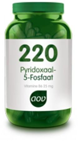 AOV Vitamine B6 pyridoxaal -5 -fosfaat - 220 60 vegetarische capsules