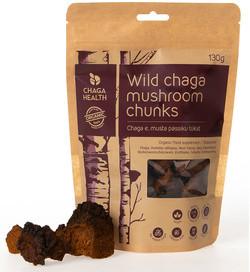 Chaga Health Wilde Chaga Paddenstoelen Poeder 30 gram biologisch
