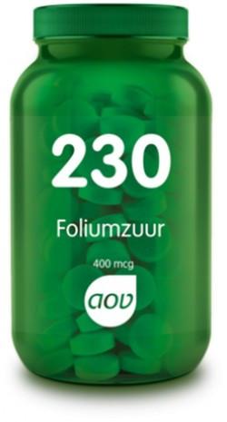 AOV Foliumzuur (Vitamine B11) 400 mcg - 230 100 tabletten