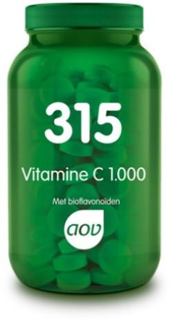 AOV Vitamine C 1.000 met bioflavonoiden - 315 60 tabletten