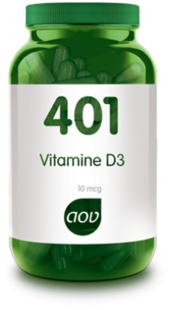 AOV Vitamine D3 400 IE - 401 60 vegetarische capsules