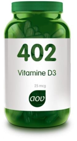 AOV Vitamine D3 1000 IE - 402 60 vegetarische capsules