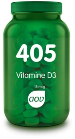 AOV Vitamine D3 - 405 180 tabletten
