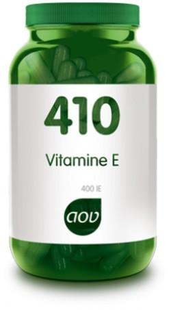 AOV Vitamine E 400 IE - 410 60 vegetarische capsules