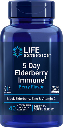 Life Extension 5 Day Elderberry Immune
