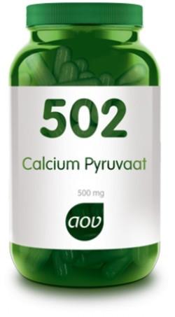 AOV Calcium Pyruvaat - 502 60 vegetarische capsules
