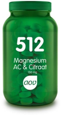 AOV Magnesium AC & Citraat - 512 60 tabletten
