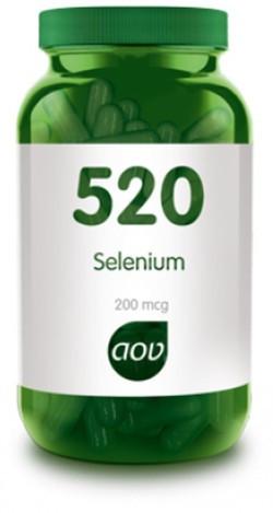 AOV Selenium 200 mcg - 520 60 vegetarische capsules