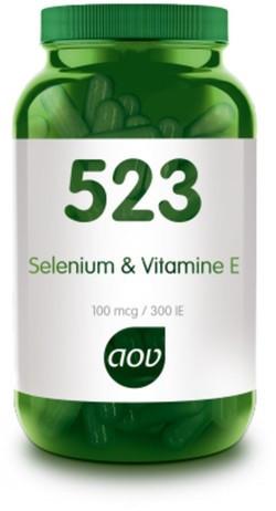 AOV Selenium & Vitamine E - 523 60 vegetarische capsules