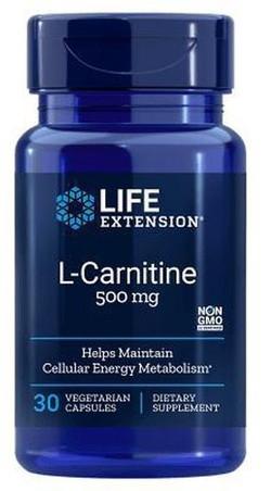 Life Extension L-Carnitine 500 mg