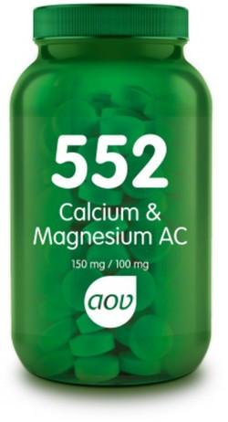 AOV Calcium & Magnesium AC tabletten - 552 60 tabletten