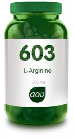 AOV 603 L-Arginine vegacaps