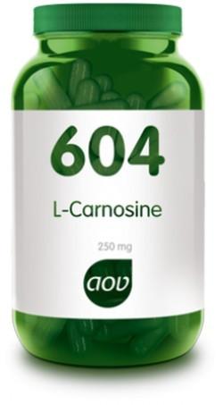 AOV L-Carnosine 250 mg - 604 60 vegetarische capsules