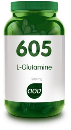 AOV L-Glutamine 500 mg - 605 90 capsules