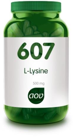 AOV L-Lysine 500 mg - 607 90 capsules