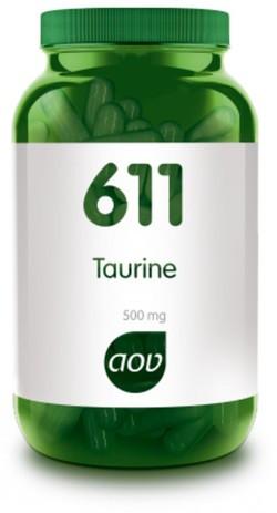 AOV Taurine 500 mg - 611 60 vegetarische capsules