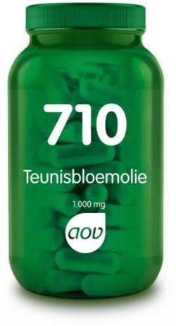AOV Teunisbloemolie 1000 mg - 710 60 capsules