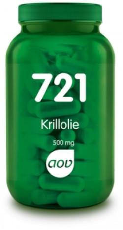 AOV Krill olie 500 mg - 721 60 capsules