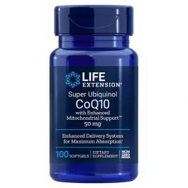 Life Extension Super Ubiquinol CoQ10 50 mg with Enhanced Mitochondrial Support™