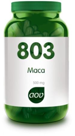AOV Maca extract 500 mg - 803 60 vegetarische capsules