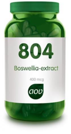 AOV Boswellia extract 400mg - 804 60 vegetarische capsules