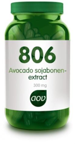 AOV Avocado sojabonen extract - 806 60 vegetarische capsules