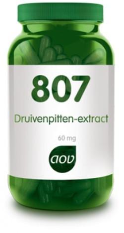 AOV Druivenpitten extract - 807 60 vegetarische capsules