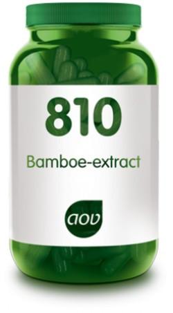 AOV Bamboe extract - 810 90 capsules