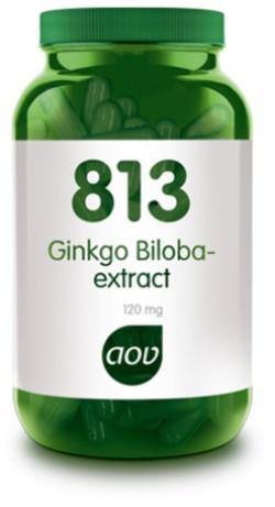 AOV Ginkgo Biloba extract - 813 60 vegetarische capsules