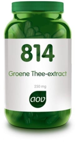 AOV Groene Thee extract - 814 60 vegetarische capsules