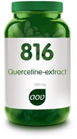 AOV Quercetine extract - 816 60 vegetarische capsules