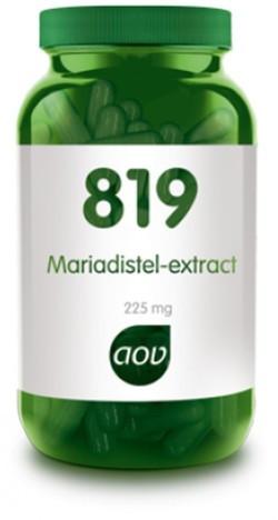 AOV Mariadistel extract - 819 90 capsules