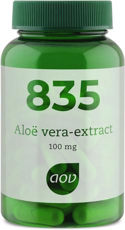 AOV Aloë vera extract - 835 60 vegetarische capsules