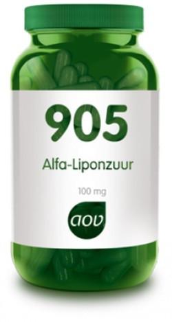 AOV Alfa-liponzuur - 905 60 vegetarische capsules
