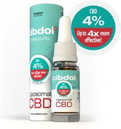 Cibdol Liposomal CBD 4%