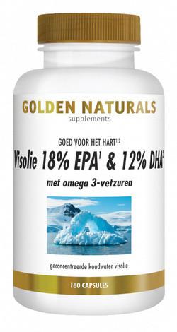 Golden Naturals Omega-3 Visolie 18% EPA 12% DHA